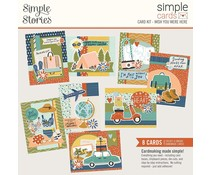 Simple Stories Simple Cards Kit Wish You Were Here (14829)