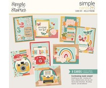 Simple Stories Simple Cards Kit Hello Friend (14431)