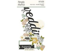 Simple Stories Simple Pages Pieces Wedding Memories (15527)