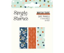 Simple Stories Safe Travels Washi Tape (14824)