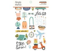 Simple Stories Safe Travels Sticker Book (14818)