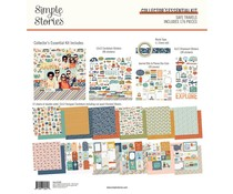 Simple Stories Safe Travels Collector's Essential Kit (14830)