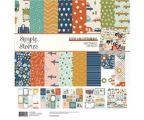 Simple Stories Safe Travels Collection Kit (14800)
