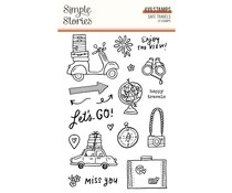 Simple Stories Safe Travels Clear Stamps (14825)