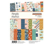 Simple Stories Safe Travels 6x8 Inch Paper Pad (14814)