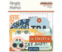 Simple Stories Safe Travels  Journal Bits (14817)