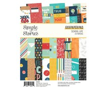 Simple Stories School Life 6x8 Inch Paper Pad (14914)