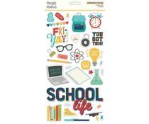 Simple Stories School Life Chipboard (14915)