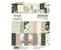 Simple Stories Happily Ever After 6x8 Inch Paper Pad (15514)
