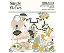 Simple Stories Happily Ever After Bits & Pieces (15516)
