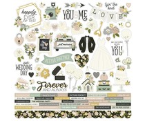 Simple Stories Happily Ever After Cardstock Sticker (15501)