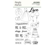 Simple Stories Happily Ever After Clear Stamps (15525)