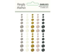 Simple Stories Happily Ever After Enamel Dots (15523)