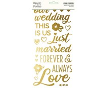 Simple Stories Happily Ever After Foam Stickers (15520)