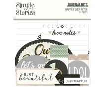 Simple Stories Happily Ever After Journal Bits (15517)