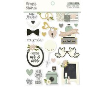 Simple Stories Happily Ever After Sticker Book (15518)