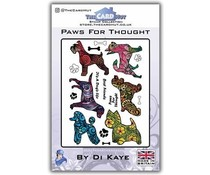 The Card Hut Paws For Thought Clear Stamps (DKPFT)