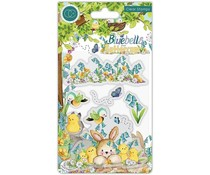 Craft Consortium Bluebells and Buttercups Chicks Clear Stamps (CCSTMP056)