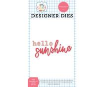 Carta Bella Hello Sunshine #2 Word Designer Dies (CBS133042)