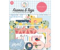 Carta Bella Summer Frames & Tags (CBS133025)