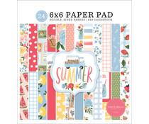 Carta Bella Summer 6x6 Inch Paper Pad (CBS133023)