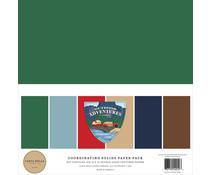 Carta Bella Outdoor Adventures 12x12 Inch Coordinating Solids Paper Pack (CBOA134015)
