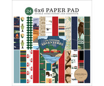 Carta Bella Outdoor Adventures 6x6 Inch Paper Pad (CBOA134023)