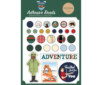 Carta Bella Outdoor Adventures Adhesive Brads (CBOA134020)