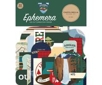 Carta Bella Outdoor Adventures Ephemera (CBOA134024)