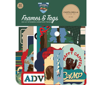 Carta Bella Outdoor Adventures Frames & Tags (CBOA134025)