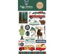 Carta Bella Outdoor Adventures Puffy Stickers (CBOA134066)
