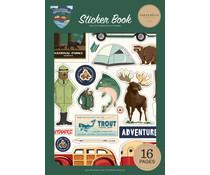 Carta Bella Outdoor Adventures Sticker Book (CBOA134029)