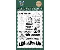 Carta Bella The Great Outdoors Clear Stamps (CBOA134040)
