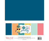 Echo Park Pool Party 12x12 Inch Coordinating Solids Paper Pack (POP240015)