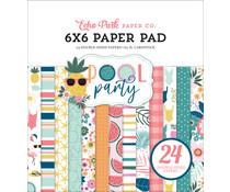 Echo Park Pool Party 6x6 Inch Paper Pad (POP240023)