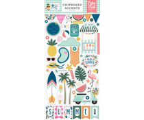 Echo Park Pool Party Chipboard Accents (POP240021)
