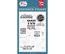 Echo Park Sending Sunshine Clear Stamps (SOS241043)