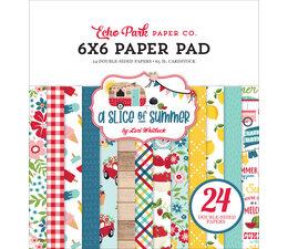 Echo Park A Slice Of Summer 6x6 Inch Paper Pad (SOS241023)