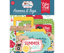 Echo Park A Slice Of Summer Frames & Tags (SOS241025)