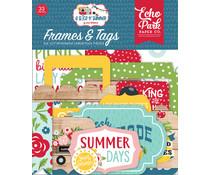 Echo Park A Slice Of Summer Frames & Tags (SOS241025)