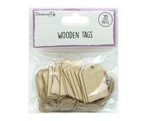 Dovecraft Wooden Tags (20pcs) (DCBS259)