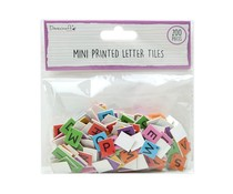 Dovecraft Mini Letter Tiles Brights (200pcs) (DCBS268)