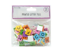 Dovecraft Printed Letter Tiles Brights (150pcs) (DCBS262)