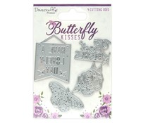 Dovecraft Butterfly Kisses Steel Cutting Dies (DCDIE189)