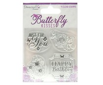 Dovecraft Butterfly Kisses Clear Stamps (DCSTP186)