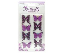 Dovecraft Butterfly Kisses Butterfly Toppers (DCTOP176)