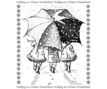 Crafty Individuals Winter Wonderland Unmounted Rubber Stamps (CI-399)