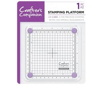 Crafter's Companion Stamping 4x4 Inch Platform (CC-TOOL-STPLAT4)