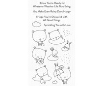 My Favorite Things Sprinkling You with Love Clear Stamps (CS-558)