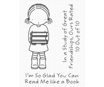 My Favorite Things Read Me Like a Book Clear Stamps (PI-320)